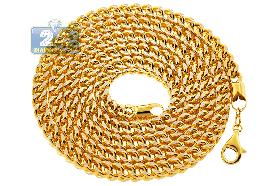 plated chunky bracelet mens for necklace chains real men store link bracelets gold set cuban product