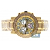 Joe Rodeo Trooper 10.25 ct Diamond Mens Watch JTRO11