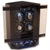 Quad Watch Winder Cabinet W300 Rapport Templa Ebony Wood