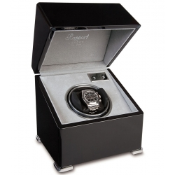 Rapport Perpetua II Ebony Single Watch Winder Box W121