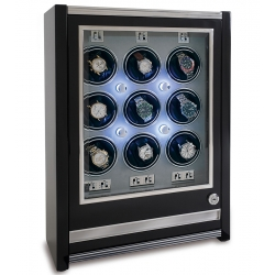 Nine Watch Winder Cabinet W509 Rapport Paramount Ebony