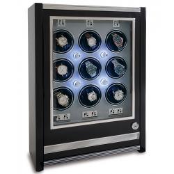 Rapport Paramount Ebony 9 Watch Winder Cabinet W509