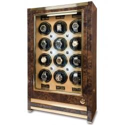 Rapport Paramount Walnut 12 Watch Winder Cabinet W532