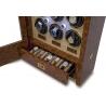 12 Watch Winder Cabinet W532 Rapport Paramount Walnut Wood