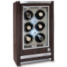 6 Watch Winder Cabinet W406 Rapport Paramount Macassar Wood