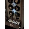 6 Watch Winder Cabinet W406 Rapport Paramount Macassar Wood