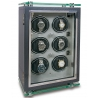 6 Watch Winder Cabinet W256 Rapport Optima F3 Carbon Fiber