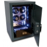 Rapport Securita Quad Watch Winder Safe W634