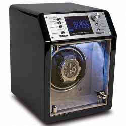 Single Watch Winder W631 Rapport Cosmic Ebony Wood