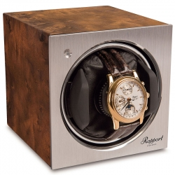 Rapport Tetra Aged Walnut 1 Watch Winder W148
