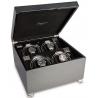 Quad Automatic Watch Winder Box W374 Rapport Vogue Carbon Fiber