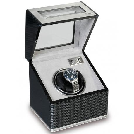 Rapport Optima F3 Carbon Fiber Single Automatic Watch Winder W251