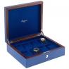 Rapport Heritage Blue Wood 8 Watch Storage Box L401