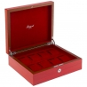 Rapport Heritage Red Wood 8 Watch Storage Box L421