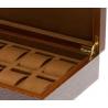 Rapport Portman Herringbone Wood 10 Watch Storage Box L411