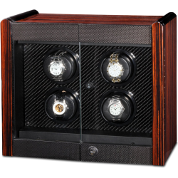 Quad Watch Winder Cabinet W70006 Orbita Avanti 4 Rotorwind