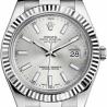 116334SIO Rolex Datejust II Steel 18K White Gold 41mm Watch