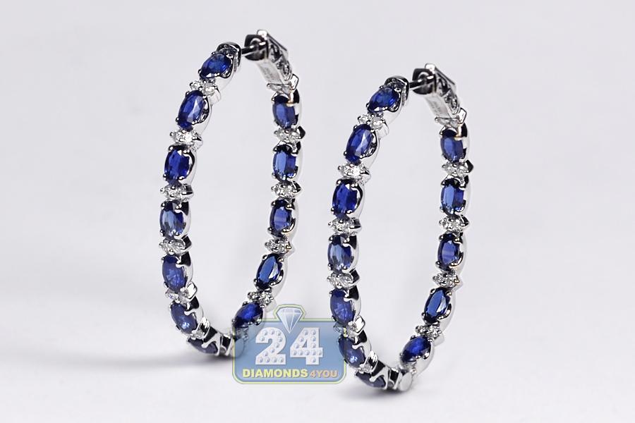 Ct Oval Diamond Earrings