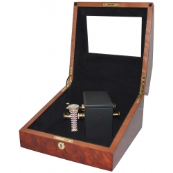 Orbita Sempre 1 Hand Wound Watch Winder W31001 Burl Wood