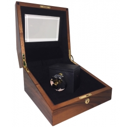 Orbita Sempre 1 Hand Wound Watch Winder W30007 Teak Wood
