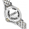 F107134000T06 Fendi Crazy Carats White Dial Two Tone Watch 38mm