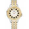 F107124000T06 Fendi Crazy Carats White Dial Two Tone Watch 33mm