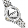 F107131000T07 Fendi Crazy Carats Black Dial Two Tone Watch 38mm