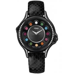 Fendi Crazy Carats Diamond Black 33 mm Watch F110021011C0T05
