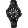 F110021011T05 Fendi Crazy Carats Black Case Leather Watch 33mm