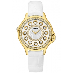 F111024041B2P02 Fendi Crazy Carats 18K Yellow Gold Diamond Watch 33mm