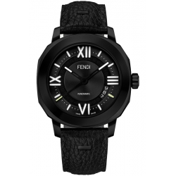 F820011011 Fendi Selleria Automatic Mens Watch Black Edition