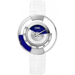 F500033541G0 Fendi Policromia Watch Lapis Lazuli Ceramic 38mm