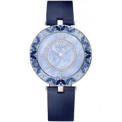 F362033531P3 Fendi My Way Blue Sapphires Diamond Watch 36 mm