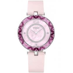 F362037571P3 Fendi My Way Pink Sapphires Diamond Watch 36 mm