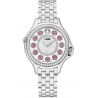 F107024000B2T05 Fendi Crazy Carats Diamond Silver Dial Watch 33mm