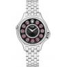 F107031000B2T05 Fendi Crazy Carats Diamond Black Dial Watch 38mm