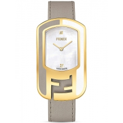 F336434561D1 Fendi Chameleon Two Tone Tortora Womens Watch 29mm