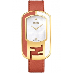 F337434573D1 Fendi Chameleon Two Tone Red Womens Watch 29mm