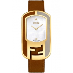 F332434521D1 Fendi Chameleon Two Tone Noce Womens Watch 29mm