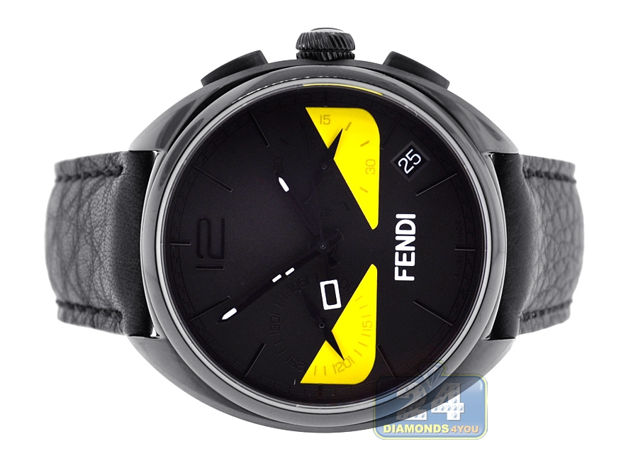 c0c396318309 F214611611 Fendi Momento Bag Bugs Eye Dial Black Watch 40mm