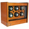 Orbita Avanti 6 Programmable Burl Wood Watch Winder W22030