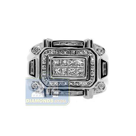 Black PVD 14K Gold 1.15 ct Mixed Diamond Mens Ring Signet