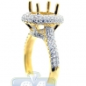 18K Yellow Gold 1.09 ct Diamond Engagement Semi Mount Setting