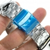 Mens Diamond Silver Watch Joe Rodeo Broadway JRBR18 5.00 Carats