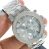 Mens Diamond Silver Watch Joe Rodeo Broadway JRBR18 5.00 Carats