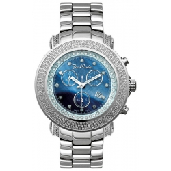 Mens Diamond Blue Dial Watch Joe Rodeo Junior JJU5 2.50 ct