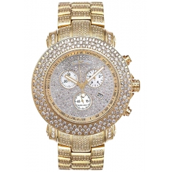 Mens Full Diamond Gold Watch Joe Rodeo Junior JJU39 20.50 Carat