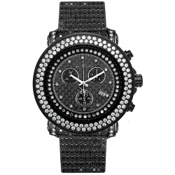Mens Diamond All Black Watch Joe Rodeo Junior RJJU17 29.75 ct