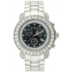 Mens Large Diamond Bezel Watch Joe Rodeo Junior RJJU5 8.50 ct
