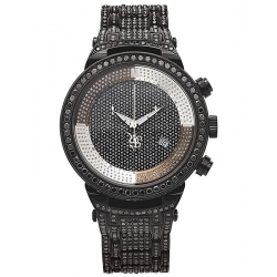 Mens Black Diamond Watch Joe Rodeo Master JJM62 25.00 Carats